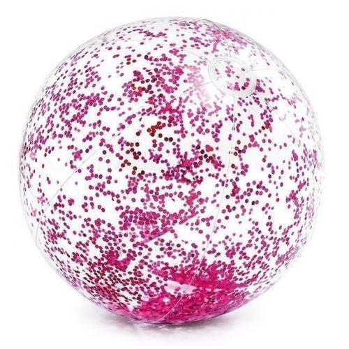 Мяч надув. 58070 прозрачный 71см