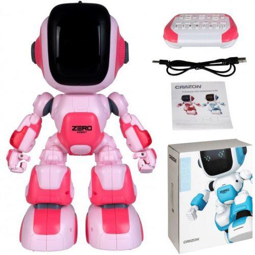 Робот Д/у Интерактивный розовый ZG-R8008