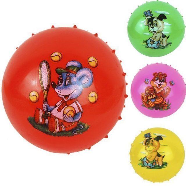 Мяч массажный 12 см 141-2121К