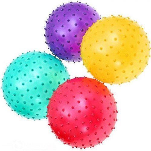 Мяч массажный 25см ассорт. 636131