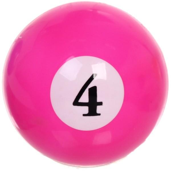 "Набор мячей 8 см ""Бильярд"" (20 г), латекс (микс)"